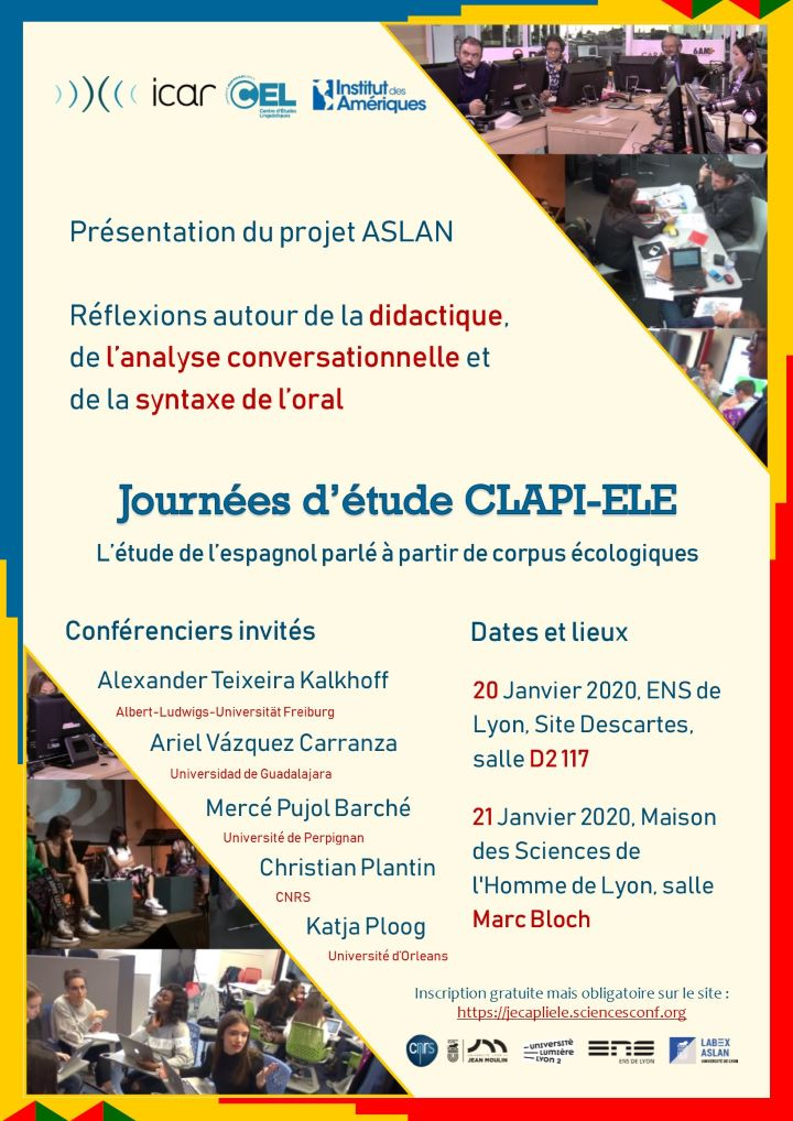 Affiche CLAPI-ELE