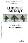 L'épreuve de linguistique à l'agrégation interne d'anglais