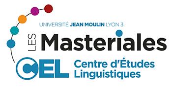 Masteriales - Centre d'Études Linguistiques