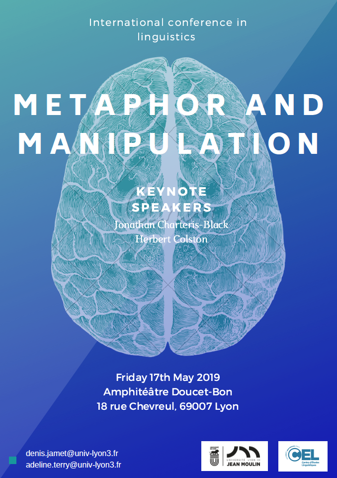 Metaphor and manipulation - poster